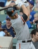 sf giants, san francisco giants, photo, 2012, wrigley field, xavier nady