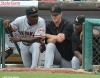 sf giants, san francisco giants, photo, 2012, wrigley field, matt cain, roberto kelly, shawon dunston