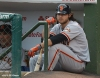 sf giants, san francisco giants, photo, 2012, wrigley field, brandon crawford