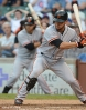 sf giants, san francisco giants, photo, 2012, gregor blanco, brandon crawford
