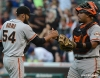 sf giants, san francisco giants, photo, 2012, wrigley field, sergio romo, hector sanchez