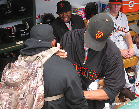sf giants, san francisco giants, photo, 2012, joaquin arias, jean machi, javier lopez