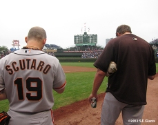 sf giants, san francisco giants, photo, 2012, marco scutaro, jeremy affeldt