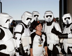 sf giants, san francisco giants, photo, 2012, fans, star wars, september 3, 2012