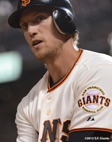 sf giants, san francisco giants, photo, 2012, hunter pecne