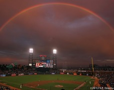sf giants, san franciso giatns, photo, 2012, rainbow