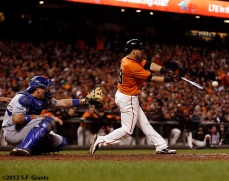 San Francisco Giants, S.F. Giants, photo, 2012, Marco Scuatro