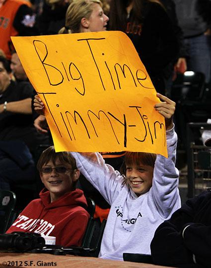 San Francisco Giants, S.F. Giants, photo, 2012, Fans