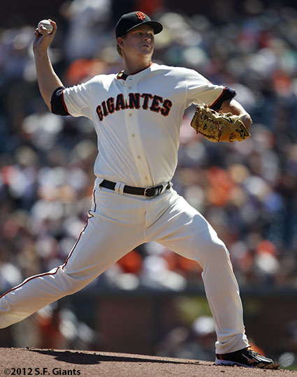 San Francisco Giants, S.F. Giants, photo, 2012, Matt Cain