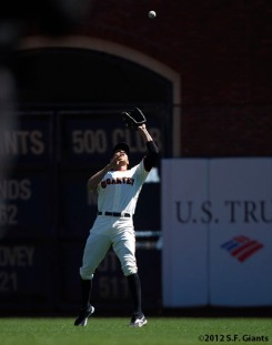 sf gaints, san francisco giants, hunter pence, photo, 2012