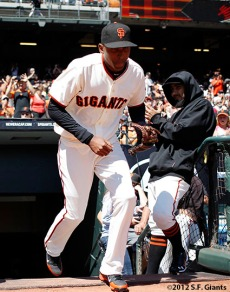 San Francisco Giants, S.F. Giants, photo, 2012 Joaquin Arias