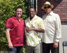 Erwin Higueros, Tito Fuentes and Orlando Cepeda