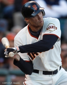 sf gaints, san francisco giants, photo, 2912, hunter pence