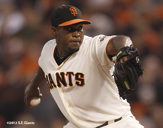 sf giants, san francisc giants, photo, 2012, santiago casilla