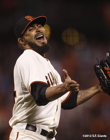 sf giants, san francisc giants, photo, 2012, sergio romo
