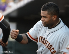 sf giants, san franciso giantsm photo, 2012, pablo sandoval
