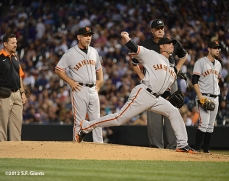 sf giants, san franciso giantsm photo, 2012, dave groeschner, bruce bochy, ryan vogelsong, brandon belt
