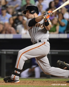 sf giants, san franciso giantsm photo, 2012, buster posey