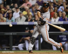 sf giants, san franciso giantsm photo, 2012, gregor blanco