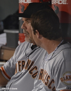 sf giants, san franciso giantsm photo, 2012, bruce bochy, dan runzler