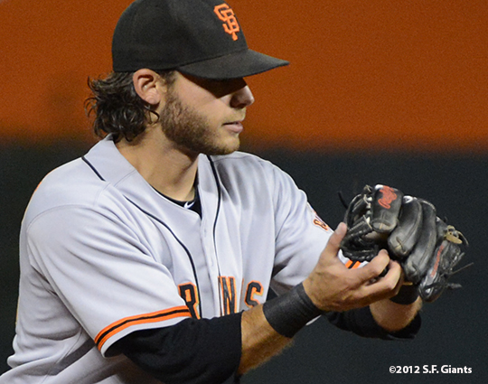 sf giants, san franciso giantsm photo, 2012, brandon crawford