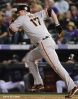 sf giants, san franciso giantsm photo, 2012, aubrey huff