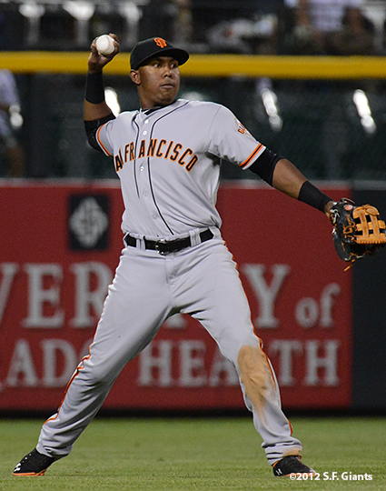 sf giants, san franciso giantsm photo, 2012, francisco peguero
