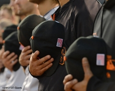 sf giants, san francisco giants, photo, 2012, 9/11