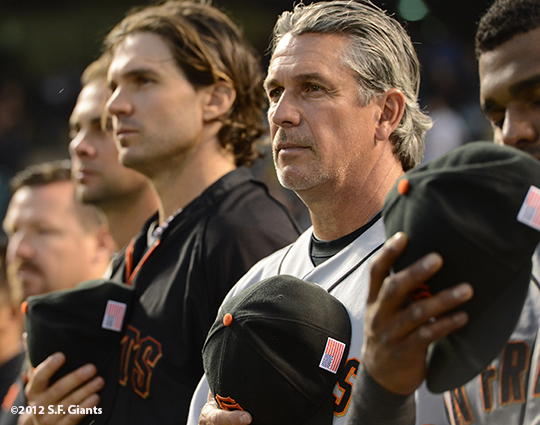 Barry Zito & Ron Wotus