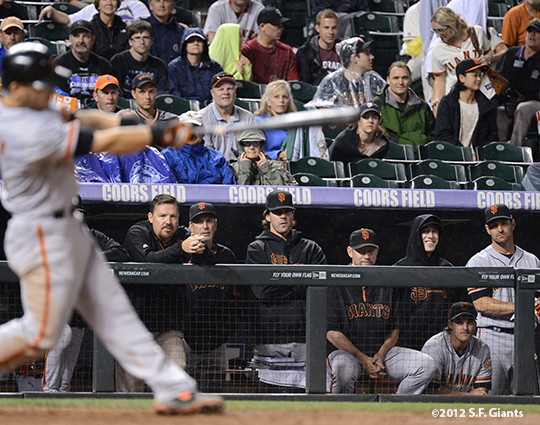 sf giants, san francisco giants, photo, 2012, dave groeschner, ron wotus, barry zito, aubrey huff, tim lincecum, ryan theriot, xavier nady