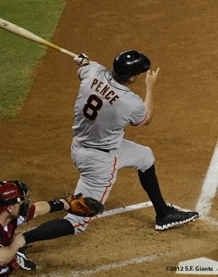 sf giants, san francisco giants, photo, 2012, hunter pence