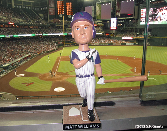 sf giants, san francisco giants, photo, 2012, matt williams bobblehead