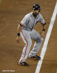 sf giants, san francisco giants, photo, 2012, september 16, angel pagan