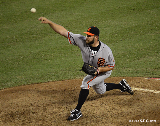 sf giants, san francisco giants, photo, september 16, 2012, brad penny