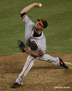 sf giants, san francisco giants, photo, september 16, 2012, clay hensley