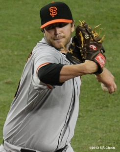 sf giants, san francisco giants, photo, september 16, 2012, dan runzler