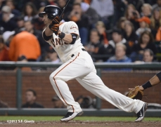 sf giants, san francisco giants, photo, september 17, 2012, marco scutaro
