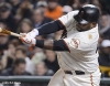 sf giants, san francisco giants, photo, september 17, 2012, pablo sandoval
