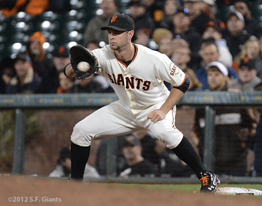 sf giants, san francisco giants, photo, 2012, brandon belt