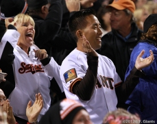 sf giants, san francisco giants, photo, september 17, 2012, fans