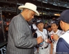 sf giants, san francisco giants, photo, september 17, 2012, orlando cepeda, PONY league World champions