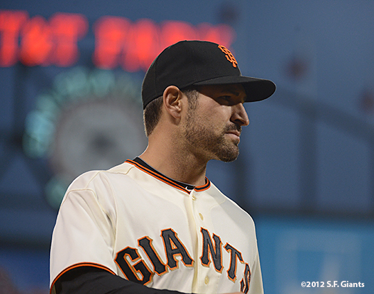 sf giants, san francisco giants, photo, september 18, 2012, xavier nady