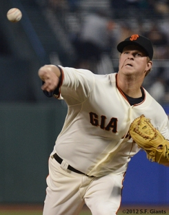 sf giants, san francisco giants, photo, september 19, 2012, matt cain