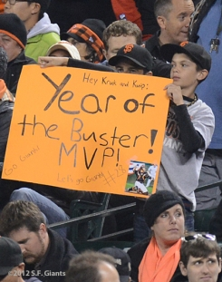 sf giants, san francisco giants, photo, september 19, 2012, fans