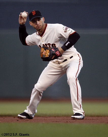 San Francisco Giants, S.F. Giants, photot, 2012, Marco Scutaro