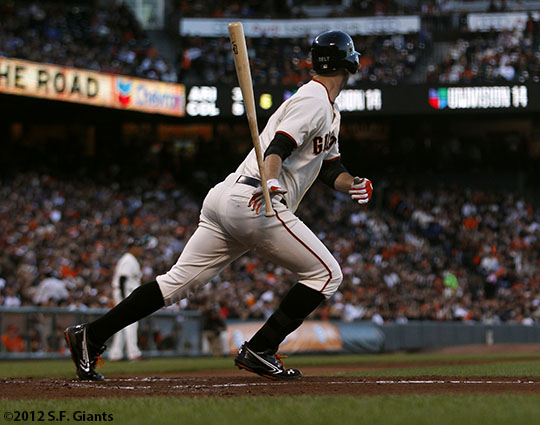San Francisco Giants, S.F. Giants, photot, 2012, Brandon Belt