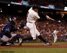 San Francisco Giants, S.F. Giants, photot, 2012, Hunter Pence