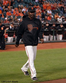 San Francisco Giants, S.F. Giants, photo, 2012, Shawon Dunston