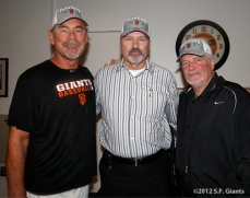 Bruce Bochy, Dick Tidrow & Brian Sabean