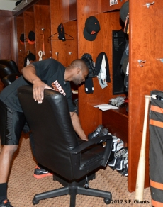 sf gaints, san francisoc giants, photo, september 22, 2012, nl west champtions, clinch the west, brandon evans